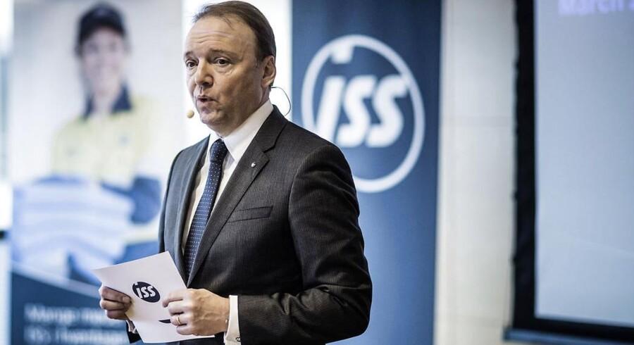 ISS blev for præcis et år siden børsnoteret. På billedet er det selskabets topchef Jeff Gravenhorst. (Foto: Thomas Lekfeldt/Scanpix 2014)