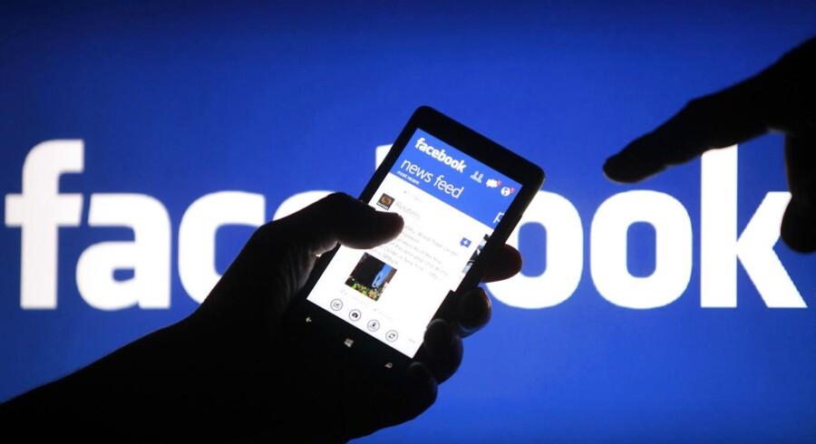 Nu vil Facebook også indføre såkaldte hashtag - mærket # - der gør det muligt at give sin opdatering et særligt mærke, således det vil fremgå i en søgning på emnet. Hashtag anvendes af andre sociale medier som Twitter, Tumblr og Pinterest. Arkivfoto: Dado Ruvic / Reuters / Scanpix.