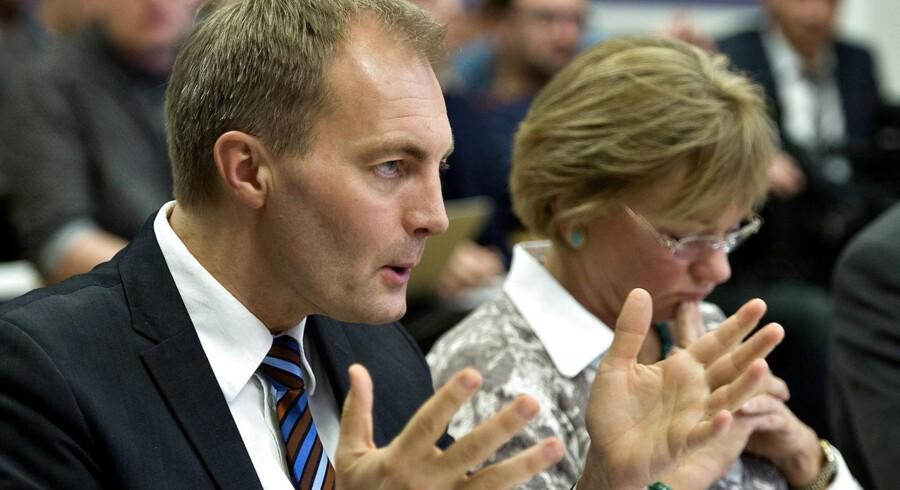 DFs Peter Skaarup (billedet) og Pernille Skipper fra Enhedslisten vil begge sætte en stopper for hjemmesiden Det Sorte Register.