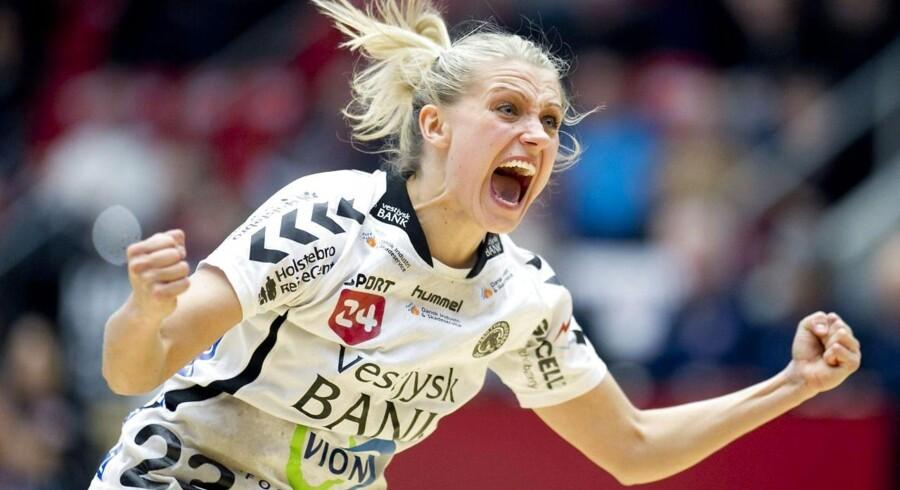 """Ann Grete Nørgaard er en """"ren kontramaskine"""" i dansk kvindehåndbold."""