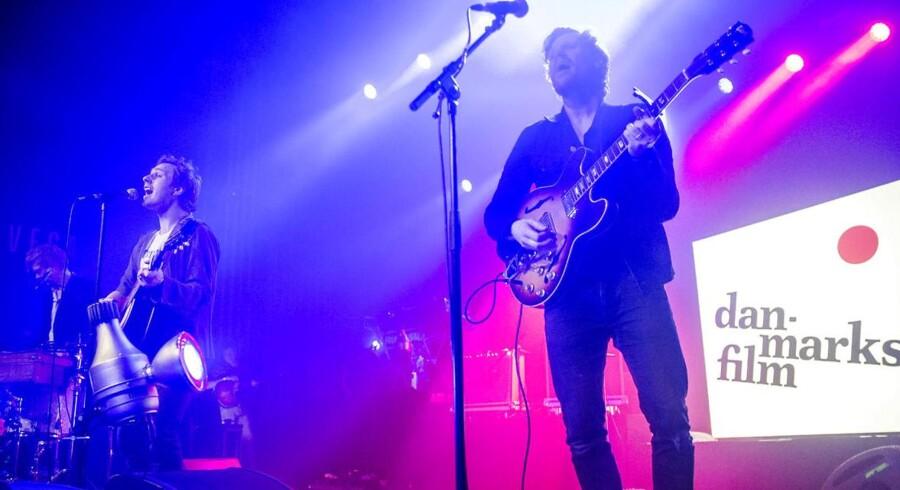 Koncert med Folkeklubben på VEGA d. 6. december 2014. (Foto: Nikolai Linares/Scanpix 2014)