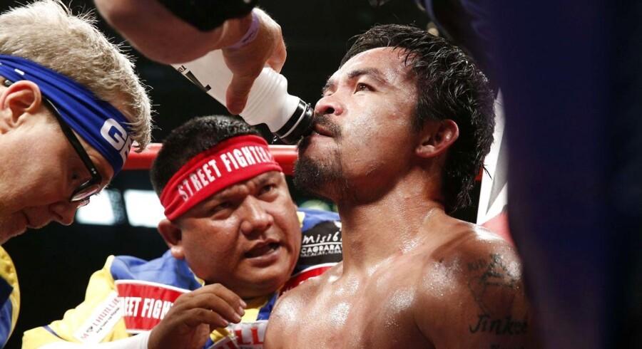 Pacquiao tabte kampen mod Mayweather og kan muligvis se frem til endnu et nederlag i form af en bøde.