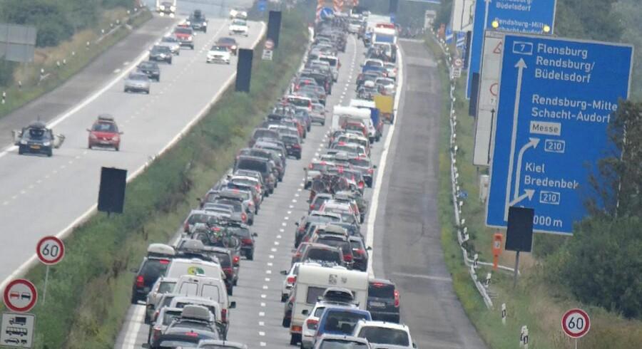 Den tyske autobahn.