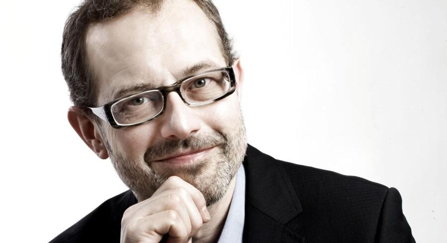 Klummefoto af redaktøren af Berlingske Business Magasin. Claus Skovhus.
