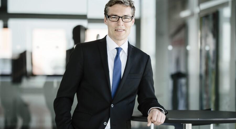 Koncerndirektør i PFA Jon Johnsen er blevet konstitueret som koncernchef fra på mandag efter Henrik Heideby. Foto: Jakob Dall