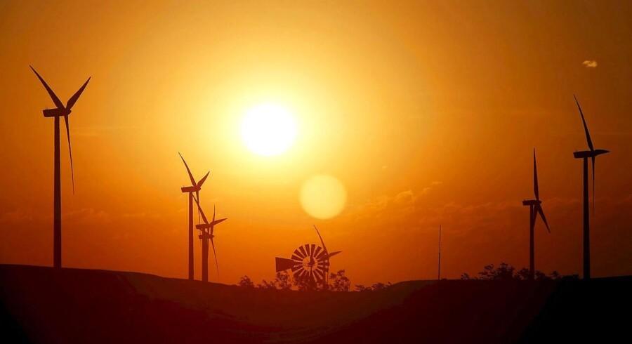 Vestas ekspanderer i USA. Her er det Smoky Hills Wind Project i nærheden af Lincoln, Kansas.