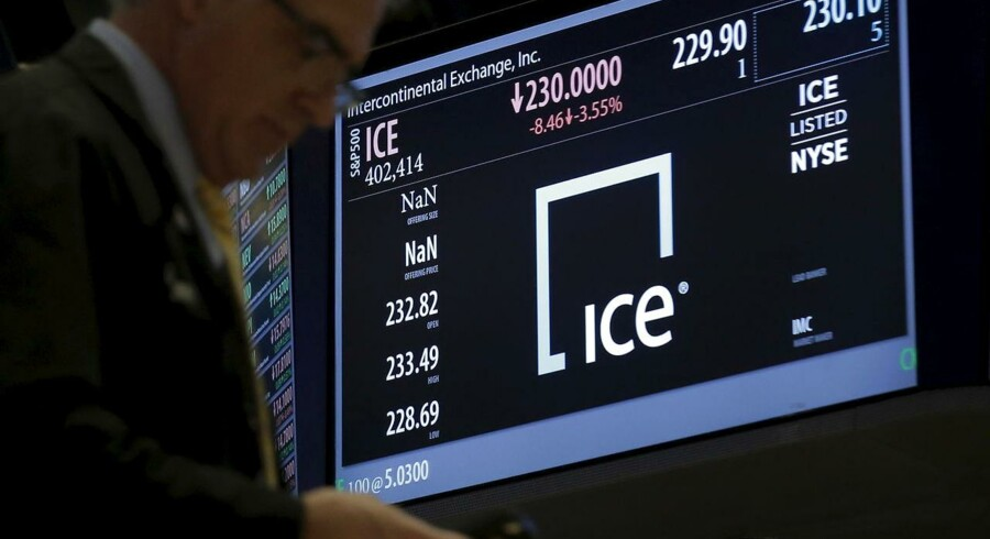 Intercontinental Exchange Inc. (ICE). 1. marts, 2016. REUTERS/Brendan McDermid