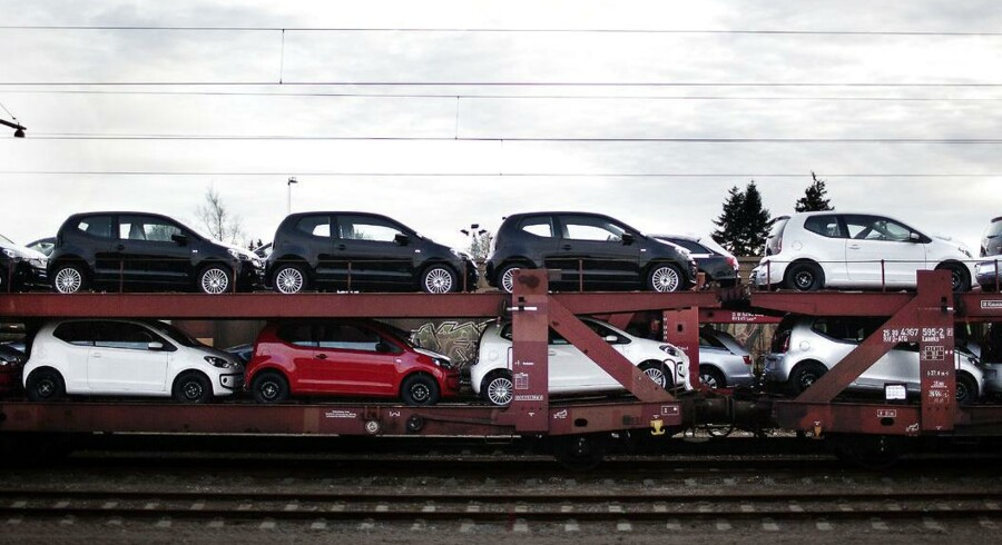 Transport af nye VW UPer