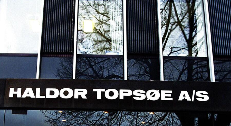 Haldor Topsøe har fået stillet en milliard kroner til rådighed i en nye investeringsfond af de tre pensionskasser PKA, Pensiondanmark og Pædagogernes Pensionskasse.