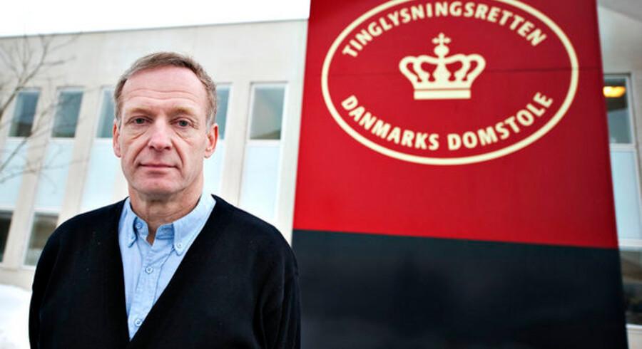 Søren Sørup Hansen har det lige nu utaknemmelige job som præsident for Tinglysningsretten i Hobro. Tusindvis af bolighandler er blevet forsinket som følge af skandalen om digitalisering af tinglysningssystemet.