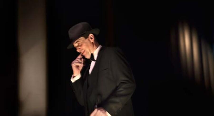 Flemming Enevold leverer på Park Café gode fortolkninger af klassiske Frank Sinatra-sange.