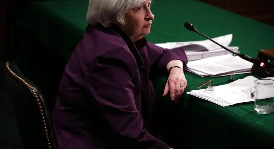Den amerikanske centralbank har næste rentemøde 17. september. Vælger banken at hæve renten, vil det være første gang siden 2006.