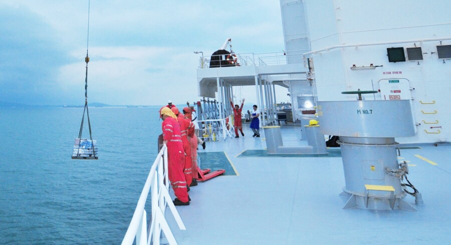 Proviantering med Wrist Ship Supply