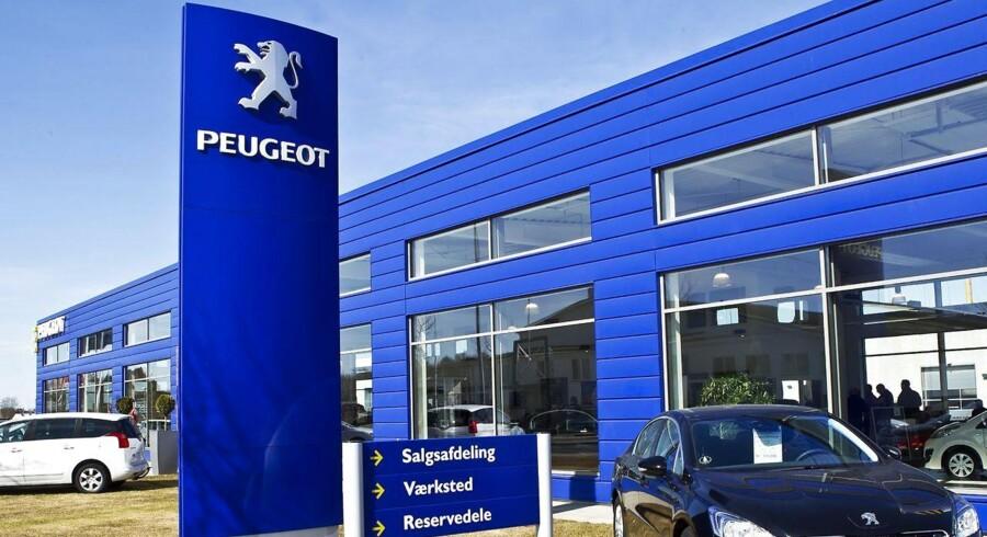 Årets Peugeot-forhandler fra Viborg ligger på Marsk Stigs Vej.