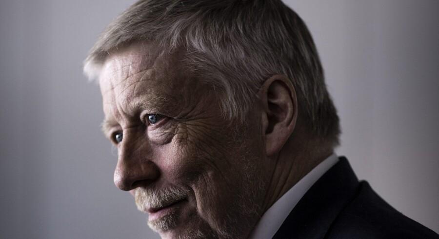 Adm.dir. for Nordea Bank Danmark, Peter Lybecker, mangler at gennemføre to tredjedele af bankens spareplan. Foto: Thomas Lekfeldt