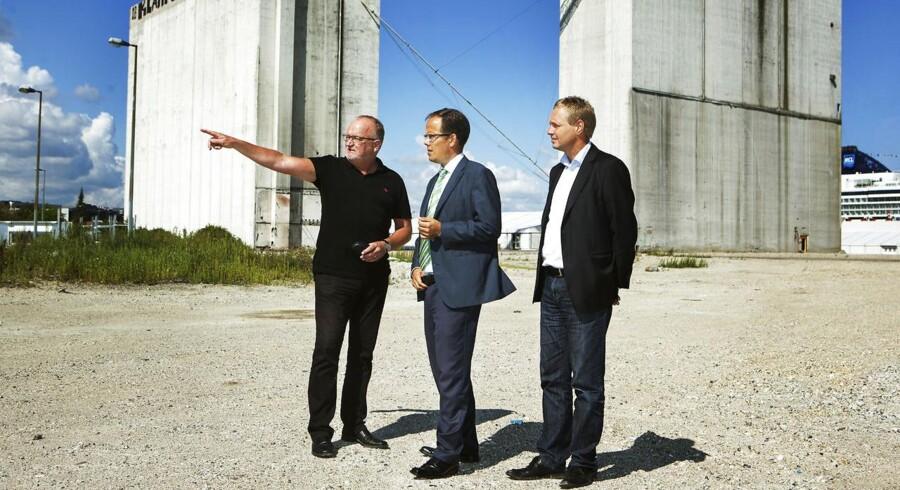 By & Havns direktør Jens Kramer Mikkelsen har stor succes med at sælge byggegrunde i Nordhavn - næste kunde kan blive Danske Bank.