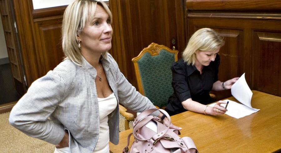 ARKIVFOTO. Lene Espersen stopper i dansk politik.