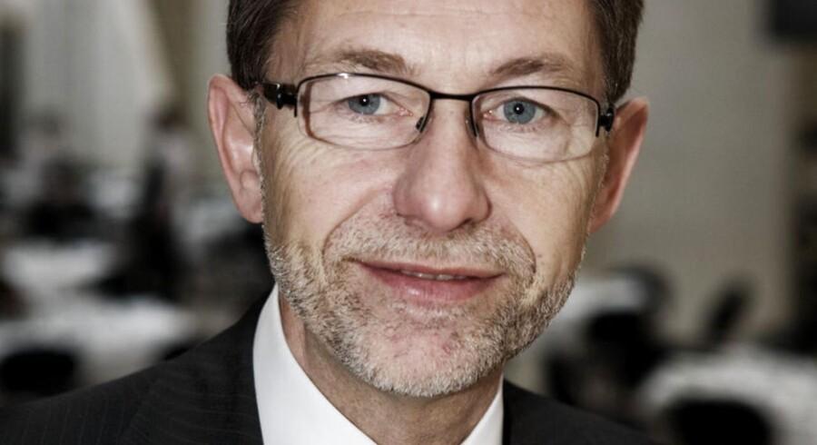 Ole Bak, bankdirektør Djurslands Bank.
