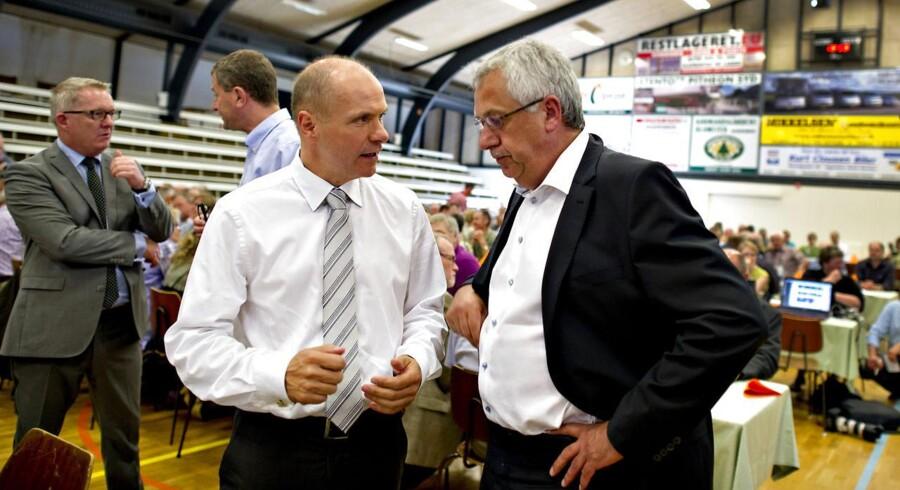 Søren Gafe og Hans Christian Schmidt er blandt hovedmændene til underskriftsindsamlingen.