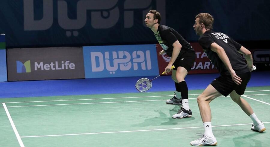 Den danske herredouble måtte se sig besejret af kinesisk duo efter tre sæt ved India Open i New Delhi.