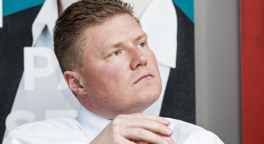Jesper Brandgaard, formand i NNIT, er overbevist om, at børsnoteringen vil styrke it- og serviceselskabets markedsposition.