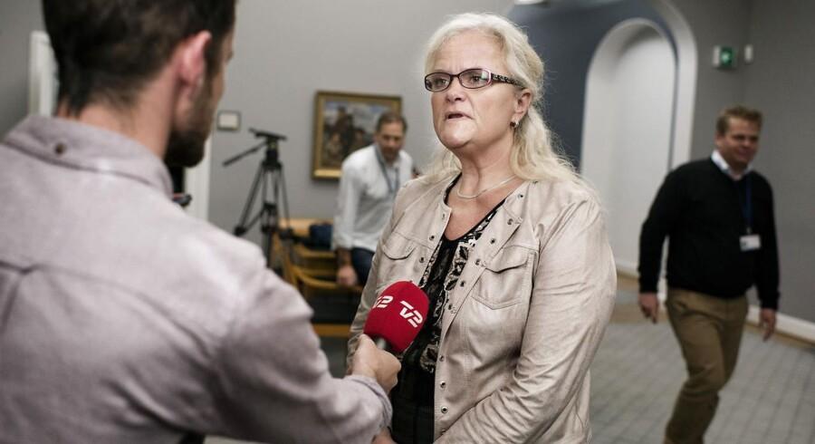 Dansk Folkepartis Liselott Blixt (billedet) og Jane Heitmann fra Venstre afviser at fravælge dyr medicin.