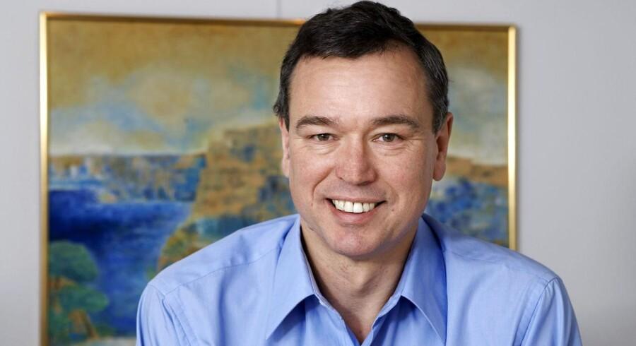 Peder Holk Nielsen er topchef (CEO) i Novozymes