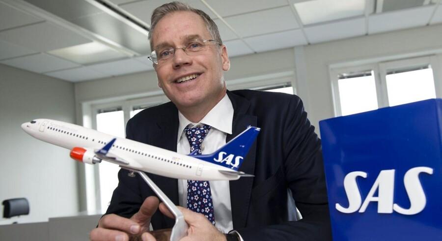 SAS' CEO Rickard Gustafson vil have klare regler for luftfart i hele EU, så der er lige konkurrence mellem selskaberne.