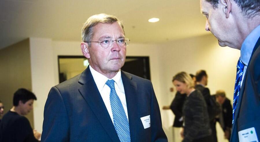 Nordeas topchef Christian Clausen har måttet lægge ryg til kritik fra Finansinspektionen adskillige gange i de seneste år, fordi banken ikke har haft styr på interne processer og lovgivning om hvidvask af penge. Arkivfoto.