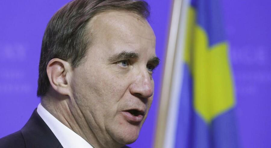 Den svenske statsminister Stefan Löfven