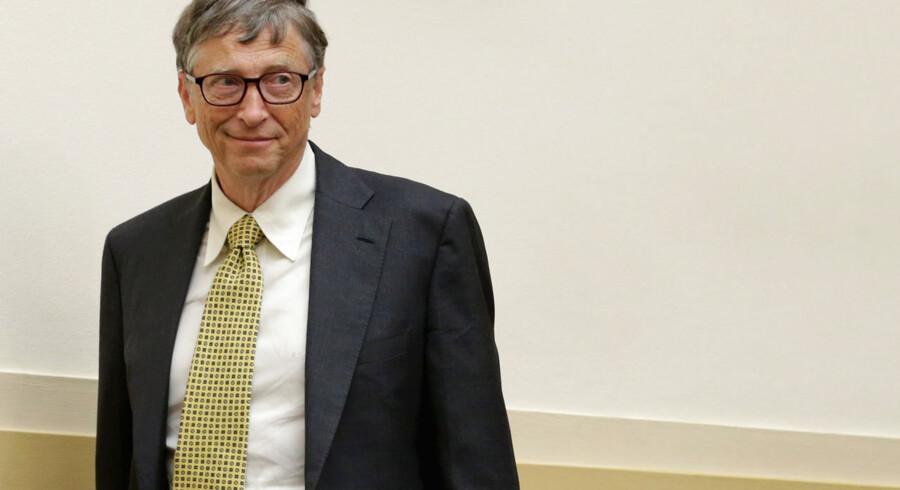 #1 Microsoft-stifteren, Bill Gates genvandt i 2013 titlen som verdens rigeste mand på bekostning af mexicaneren, Carlos Slim. Gates topper også listen over rigmænd, der har tjent flest penge i årets løb.  Bill Gates, der via fonden Cascade Investments har investeringer i en lang række selskaber, har tjent 15,5 milliarder dollar (83,7 milliarder kroner) og er nu i alt god for 78,2 milliarder dollar (422,3 milliarder kroner).