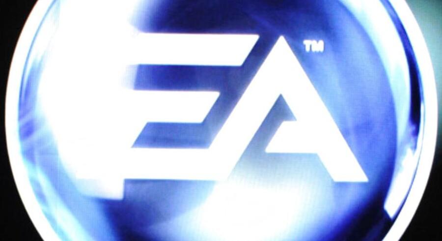Electronic Arts forventer, at det digitale marked overhaler det fysiske inden for to-tre år.AFP PHOTO /JOE KLAMAR/Scanpix
