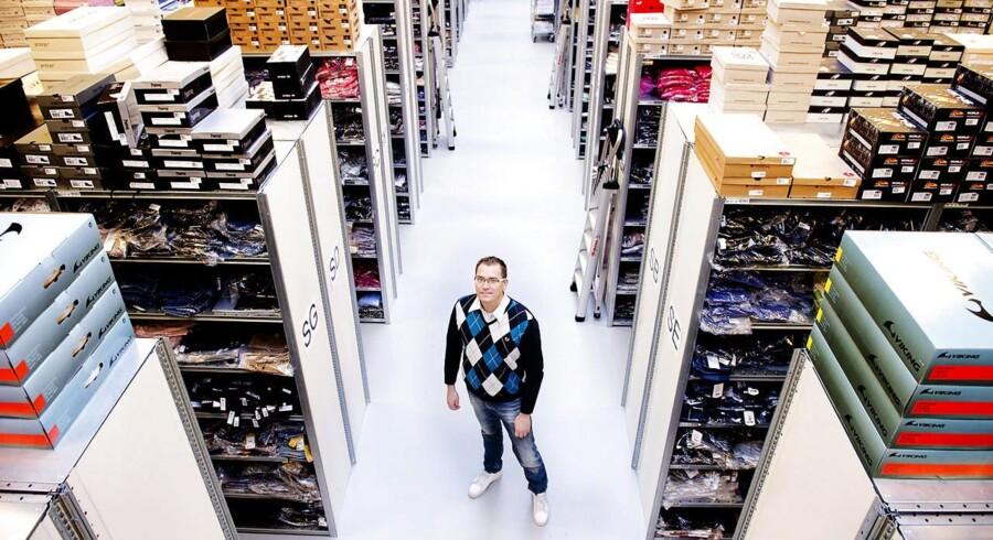 Vækstkometen Smartguy har fået modekoncernen Bestseller som ny medejer. Her er det Smartguys adm. direktør Nicolai Kærgaard.