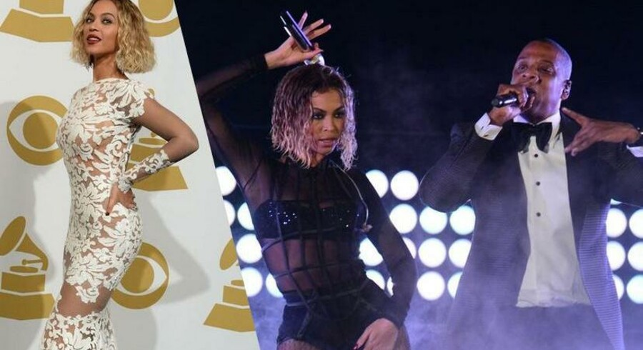 Staples Center i LA lagde gulve til musikbranchens største stjerner, da de i nat fejrede sig selv, med uddelingen af den Amerikanske Grammy.Beyoncé stjal billedet på den røde løber og igen da hun leverede aftenes første musikalske indslag, sammen med sin mand Jay-Z.