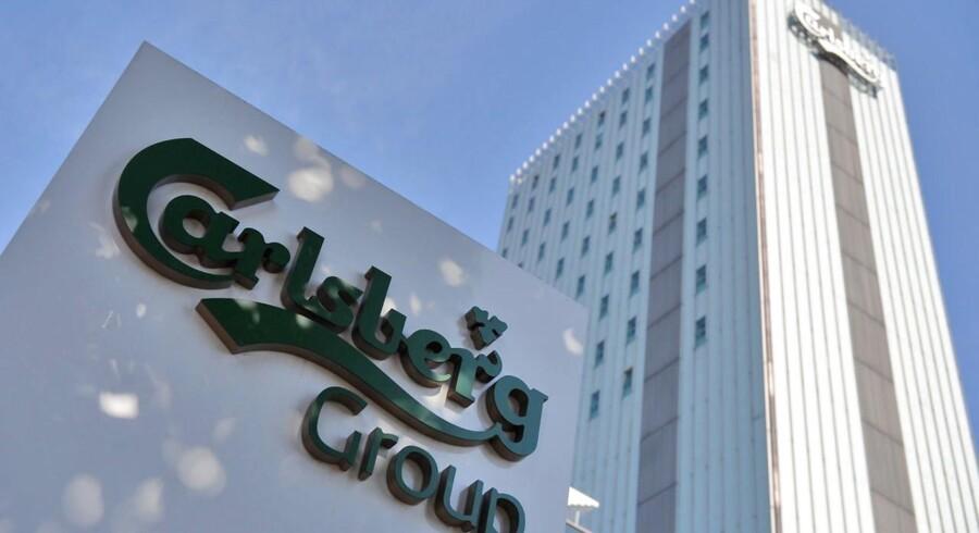 Carlsbergs russiske eksponering har gjort selskabets gæld til den mest risikofyldte blandt verdens største bryggerier.