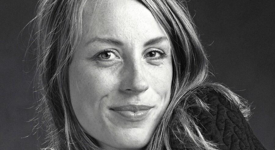»Jeg ser ingen tegn i tiden på, at den monogame kærlighed skulle forsvinde,« siger Katrine Frøkjær Baunvig. Foto: Poul Ib Henriksen/Gyldendal.