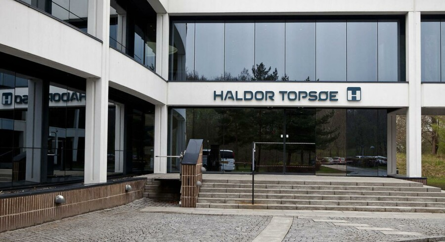 År 2012 bøde på rekordregnskab for Haldor Topsøe.