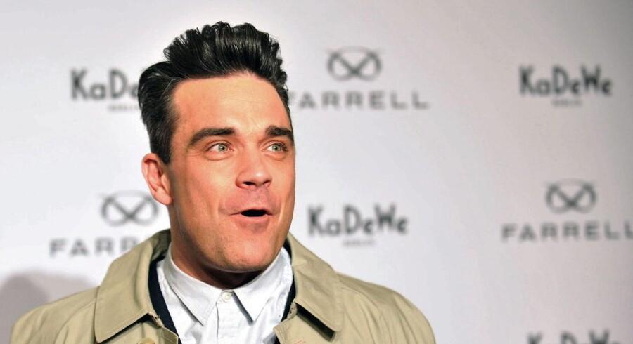 Robbie Williams spiller i Parken 22. og 23. juli.