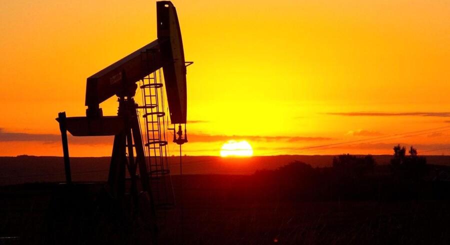 Her ses en klassisk amerikansk oliebrønd i North Dakota. Det nye olie- og gasboom kommer dog i høj grad fra nye indvendingsmetoder, der blandt andet kan udnytte olieskifer og skifergas.