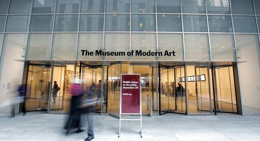 Også MoMA - Museum of Modern Art i New York kan findes på Googleartproject.com.
