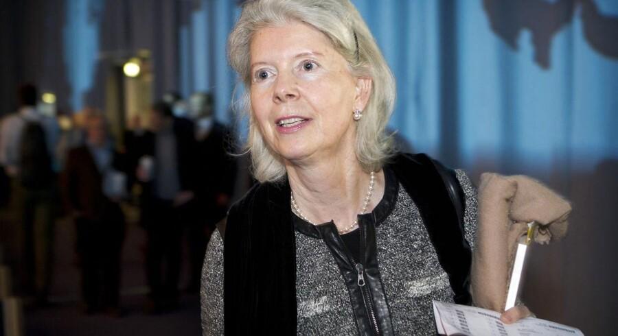 Ane Mærsk Mc-Kinney Uggla er bestyrelsesformand i Maersk Brokers. Selskabet bliver kaldt Mærsk-familiens guldkalv og har flere gange kunnet sætte penge til side på bekostning af selskabet.