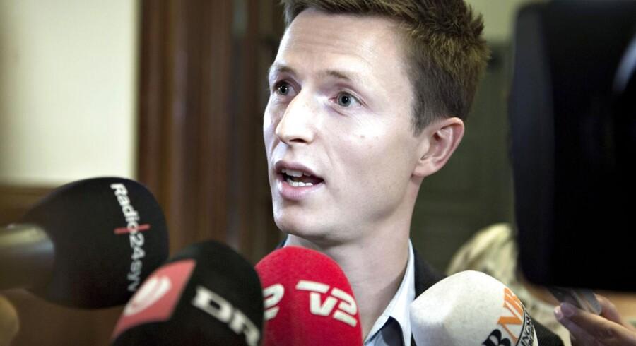 Arkivfoto: Socialdemokraternes finansordfører, Jesper Petersen.
