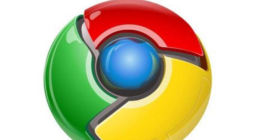 Chrome er nu den næst mest populære browser efter Internet Explorer.