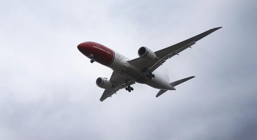 Der var fremgang i antallet af passagerer for Norwegian i september, hvor flere end 2,4 mio. personer fløj med selskabet. Det er en stigning på 9 pct. sammenlignet med samme måned sidste år.