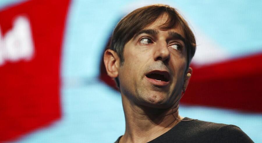 Stifter og administrerende direktør for spiludviklingsselskabet Zynga Mark Pincus har været ude og hente en ny administrerende direktør til selskabet. Det bliver Don Mattrick, der pt. er chef for Microsofts Xbox division. Arkivfoto: Stephen Lam / Reuters / Scanpix