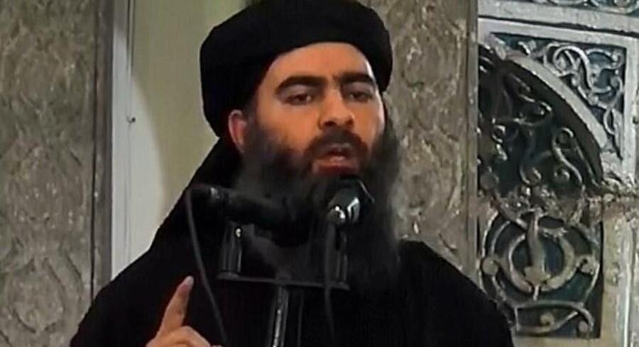 Islamisk Stats selvbestaltede leder Abu Bakr al-Baghdadi.