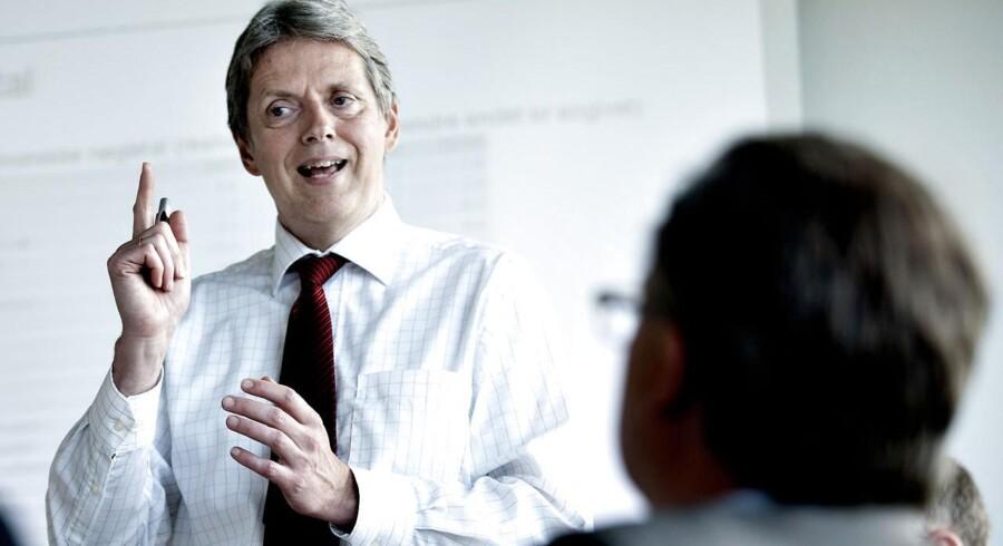 Nordeas cheføkonom Helge Pedersen er optimist efter pæne detailtal fra USA. Arkivfoto: Keld Navntoft