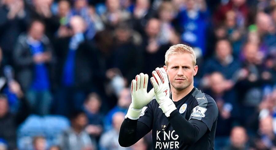 Kasper Schmeichel kan for alvor træde ud af sin fars skygge, hvis det lykkes Leicester at vinde det engelske mesterskab.