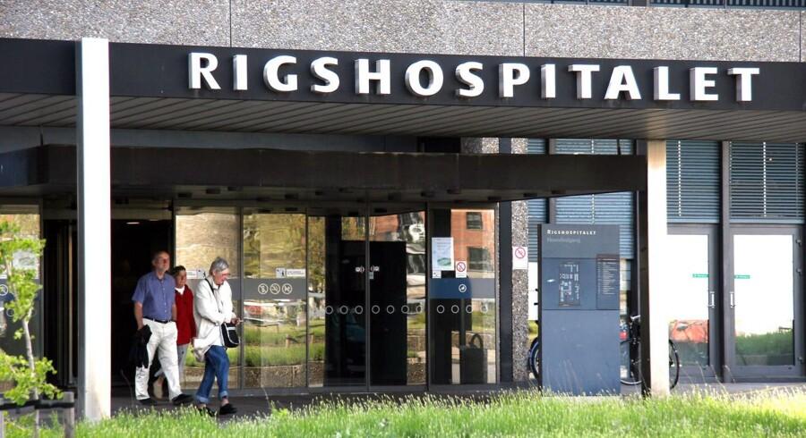 Rigshospitalet, hovedindgang.