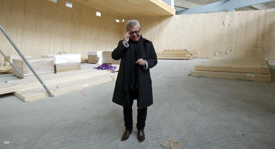 Amerikansk arkitekt Daniel Libeskind